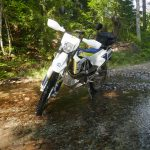 Husqvarna 701 creek crossing