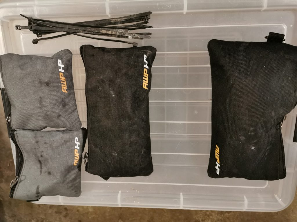 Motorcycle tools pouches